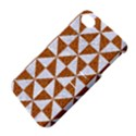 TRIANGLE1 WHITE MARBLE & RUSTED METAL Apple iPhone 4/4S Hardshell Case with Stand View4