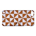 TRIANGLE1 WHITE MARBLE & RUSTED METAL Apple iPod Touch 5 Hardshell Case with Stand View1