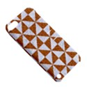 TRIANGLE1 WHITE MARBLE & RUSTED METAL Apple iPod Touch 5 Hardshell Case with Stand View5