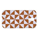 TRIANGLE1 WHITE MARBLE & RUSTED METAL Samsung Galaxy S4 I9500/I9505 Hardshell Case View1