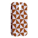 TRIANGLE1 WHITE MARBLE & RUSTED METAL Samsung Galaxy S4 I9500/I9505 Hardshell Case View2