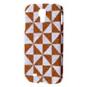 TRIANGLE1 WHITE MARBLE & RUSTED METAL Samsung Galaxy S4 I9500/I9505 Hardshell Case View3