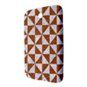 TRIANGLE1 WHITE MARBLE & RUSTED METAL Samsung Galaxy Note 8.0 N5100 Hardshell Case  View3