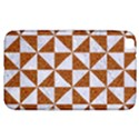 TRIANGLE1 WHITE MARBLE & RUSTED METAL Samsung Galaxy Tab 3 (8 ) T3100 Hardshell Case  View1