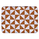 TRIANGLE1 WHITE MARBLE & RUSTED METAL Samsung Galaxy Tab 3 (10.1 ) P5200 Hardshell Case  View1