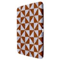TRIANGLE1 WHITE MARBLE & RUSTED METAL Samsung Galaxy Tab 3 (10.1 ) P5200 Hardshell Case  View3
