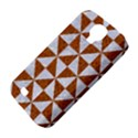 TRIANGLE1 WHITE MARBLE & RUSTED METAL Samsung Galaxy S4 Classic Hardshell Case (PC+Silicone) View4
