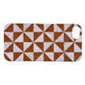 TRIANGLE1 WHITE MARBLE & RUSTED METAL Apple iPhone 5S/ SE Hardshell Case View1