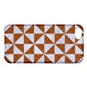 TRIANGLE1 WHITE MARBLE & RUSTED METAL Apple iPhone 5C Hardshell Case View1