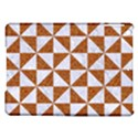TRIANGLE1 WHITE MARBLE & RUSTED METAL iPad Air Hardshell Cases View1