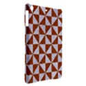 TRIANGLE1 WHITE MARBLE & RUSTED METAL iPad Air Hardshell Cases View2