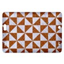 TRIANGLE1 WHITE MARBLE & RUSTED METAL Amazon Kindle Fire HD (2013) Hardshell Case View1