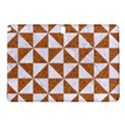 TRIANGLE1 WHITE MARBLE & RUSTED METAL Samsung Galaxy Tab Pro 10.1 Hardshell Case View1