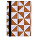 TRIANGLE1 WHITE MARBLE & RUSTED METAL iPad Mini 2 Flip Cases View4