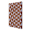 TRIANGLE1 WHITE MARBLE & RUSTED METAL iPad Air 2 Hardshell Cases View3