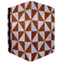 TRIANGLE1 WHITE MARBLE & RUSTED METAL iPad Air 2 Flip View3