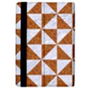 TRIANGLE1 WHITE MARBLE & RUSTED METAL iPad Air 2 Flip View4