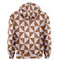 TRIANGLE1 WHITE MARBLE & RUSTED METAL Men s Zipper Hoodie View2