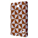 TRIANGLE1 WHITE MARBLE & RUSTED METAL Samsung Galaxy Tab 4 (8 ) Hardshell Case  View2