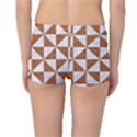 TRIANGLE1 WHITE MARBLE & RUSTED METAL Reversible Boyleg Bikini Bottoms View4