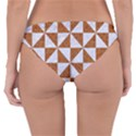 TRIANGLE1 WHITE MARBLE & RUSTED METAL Reversible Hipster Bikini Bottoms View2