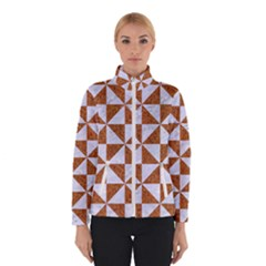 Triangle1 White Marble & Rusted Metal Winterwear