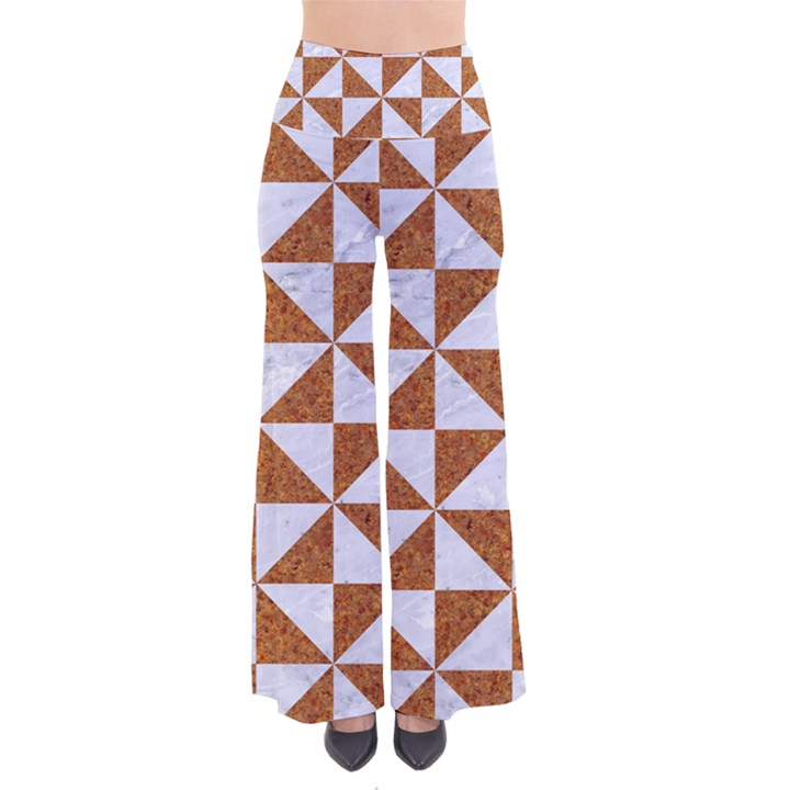 TRIANGLE1 WHITE MARBLE & RUSTED METAL Pants