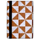 TRIANGLE1 WHITE MARBLE & RUSTED METAL Apple iPad Pro 9.7   Flip Case View4