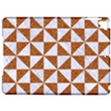 TRIANGLE1 WHITE MARBLE & RUSTED METAL Apple iPad Pro 9.7   Hardshell Case View1