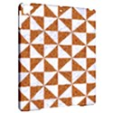 TRIANGLE1 WHITE MARBLE & RUSTED METAL Apple iPad Pro 9.7   Hardshell Case View2
