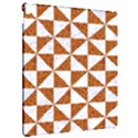 TRIANGLE1 WHITE MARBLE & RUSTED METAL Apple iPad Pro 12.9   Hardshell Case View2