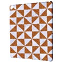 TRIANGLE1 WHITE MARBLE & RUSTED METAL Apple iPad Pro 12.9   Hardshell Case View3