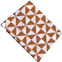 TRIANGLE1 WHITE MARBLE & RUSTED METAL Apple iPad Pro 12.9   Hardshell Case View4