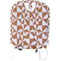 TRIANGLE1 WHITE MARBLE & RUSTED METAL Full Print Backpack View2