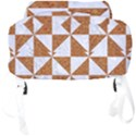 TRIANGLE1 WHITE MARBLE & RUSTED METAL Full Print Backpack View4