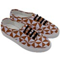 TRIANGLE1 WHITE MARBLE & RUSTED METAL Men s Classic Low Top Sneakers View3