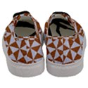 TRIANGLE1 WHITE MARBLE & RUSTED METAL Men s Classic Low Top Sneakers View4