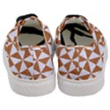 TRIANGLE1 WHITE MARBLE & RUSTED METAL Women s Classic Low Top Sneakers View4