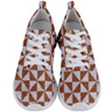 TRIANGLE1 WHITE MARBLE & RUSTED METAL Men s Lightweight Sports Shoes View1