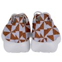 TRIANGLE1 WHITE MARBLE & RUSTED METAL Kids  Lightweight Sports Shoes View4