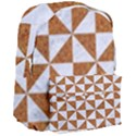 TRIANGLE1 WHITE MARBLE & RUSTED METAL Giant Full Print Backpack View3
