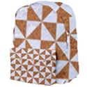 TRIANGLE1 WHITE MARBLE & RUSTED METAL Giant Full Print Backpack View4