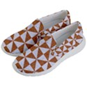 TRIANGLE1 WHITE MARBLE & RUSTED METAL Men s Lightweight Slip Ons View2