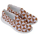 TRIANGLE1 WHITE MARBLE & RUSTED METAL Men s Lightweight Slip Ons View3