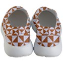 TRIANGLE1 WHITE MARBLE & RUSTED METAL Men s Lightweight Slip Ons View4