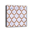 TILE1 WHITE MARBLE & RUSTED METAL (R) Mini Canvas 4  x 4  View1