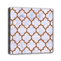 TILE1 WHITE MARBLE & RUSTED METAL (R) Canvas Travel Bag View1