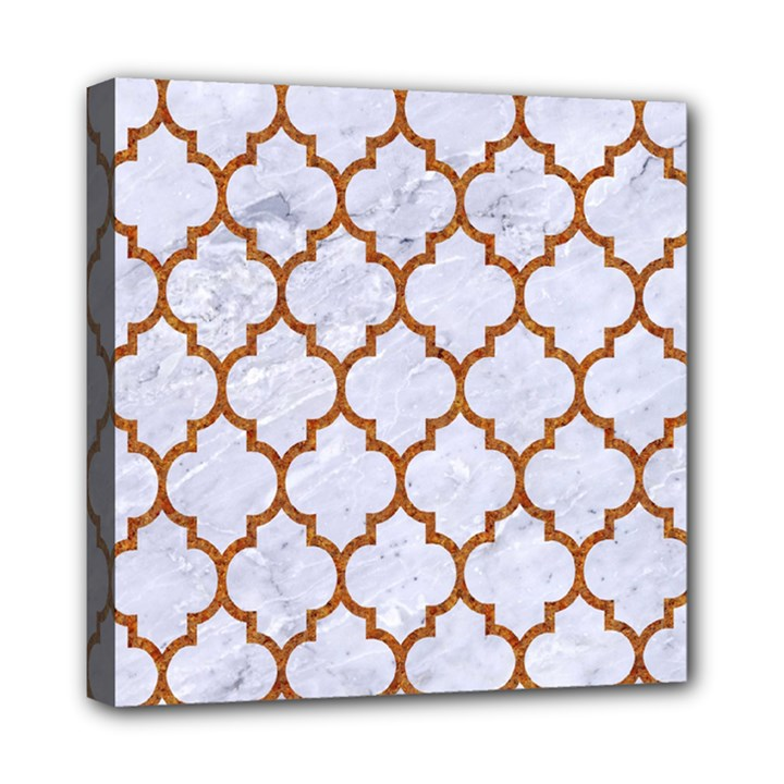 TILE1 WHITE MARBLE & RUSTED METAL (R) Multi Function Bag