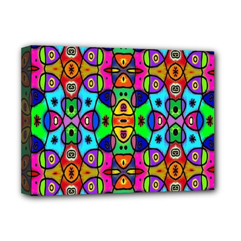 Artwork By Patrick Pattern 18 Deluxe Canvas 16  X 12