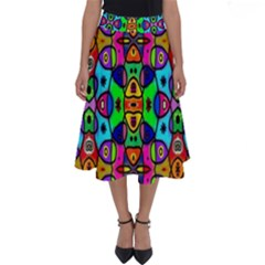 Artwork By Patrick Pattern 18 Perfect Length Midi Skirt